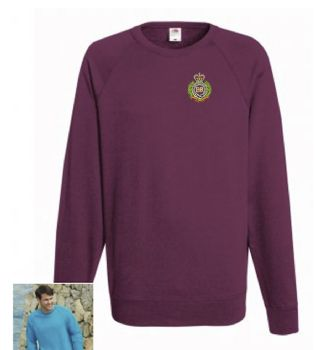 RE Cap Badge Embroidered Sweatshirt